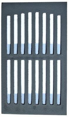 Rošt liatinové krbové kachle č. 1 33x19 PL