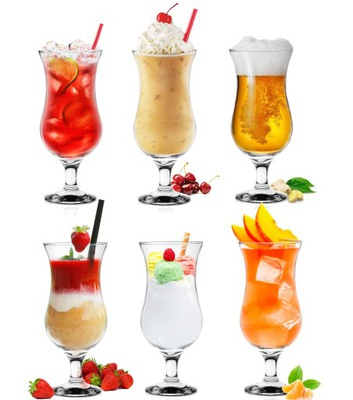 Бокалы, стаканы для коктейли напиткам ПИВА 420ml