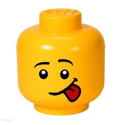 Pojemnik głowa LEGO chłopiec mała 18 cm movie