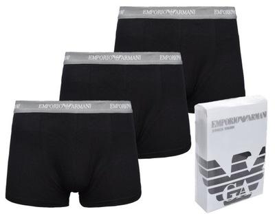 Orginalne bokserki Emporio Armani 3 pack r. XL