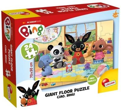 Puzzle Lisciani BING 24el MAX 70x50 OBRIE