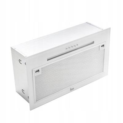 вытяжка в шкафчик Teka GFG2 GLASS WH белое стекло LED