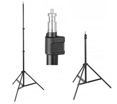 Solidny STATYW oświetleniowy 75-230cm 803 16mm