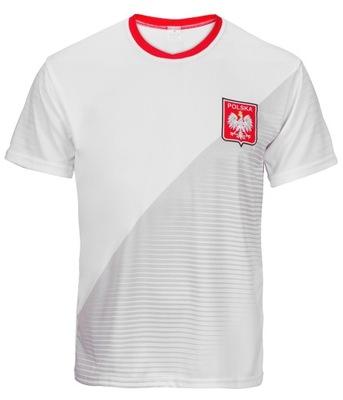 POLSKA WH - sportowa koszulka kibica Polski r.152
