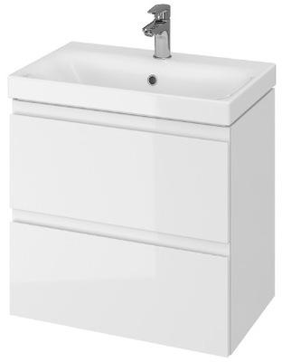 Шкаф белая 60cm для ванны Cersanit УМЫВАЛЬНИК MSL