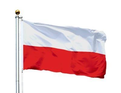 Флаг  _ _ или польский  с эмблемой 150x90 см