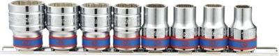 Sada nástrojov - LINKY 1/2 12-uhlový 8ks 10-22 mm King Tony 4010MR