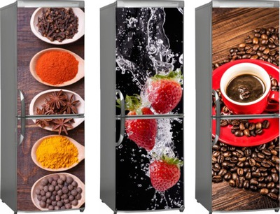 МАГНИТ коврик МАГНИТНАЯ НА ХОЛОДИЛЬНИК фрукты кофе