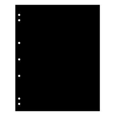 Leuchtturm - przekładka czarna Numis ZWL