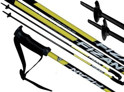Kije kijki narciarskie FIZAN INSPIRE 120 cm yellow