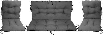 Подушки на мебель Ротанг РОТАНГА комплект 2 +1 сталь