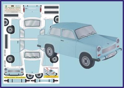 Модель для детей__Trabant 601S __ExtraModel