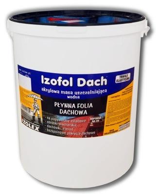 Izofol Dach | strechou kvapaliny film 25 kg tehla