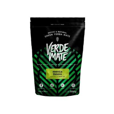 Yerba Verde Mate green Мента Лимон Лимонное Ноль ,5кг