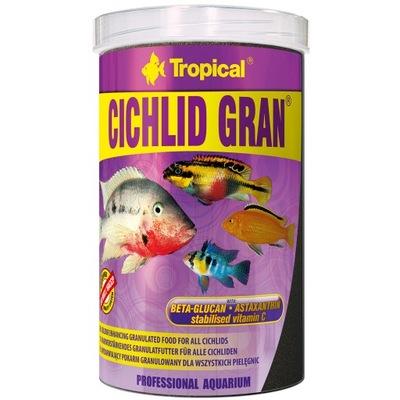 Tropical ЦИХЛИД-ГРАН-1000ml корм для цихлид