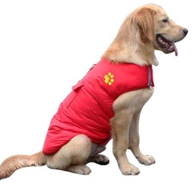 куртка зимняя двусторонняя Одежда большая собака 4XL