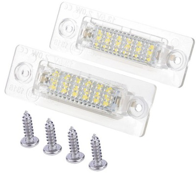 ЛАМПОЧКИ ТАБЛИЦЫ LED (СВЕТОДИОД ) VW CADDY PASSAT B5 B6 TOURAN T5