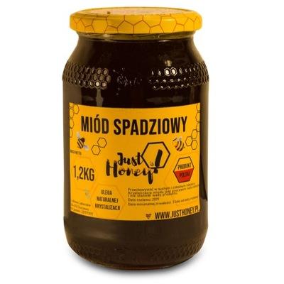 Мед роса хвойный 100 % натуральный 1 ,2кг