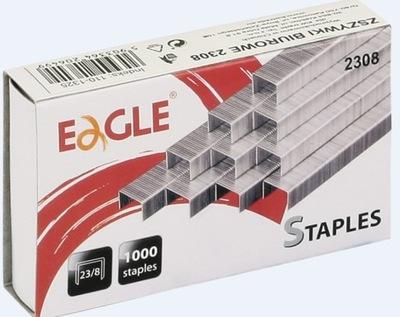 Zszywki 23/8 EAGLE zszywają do 40 kartek