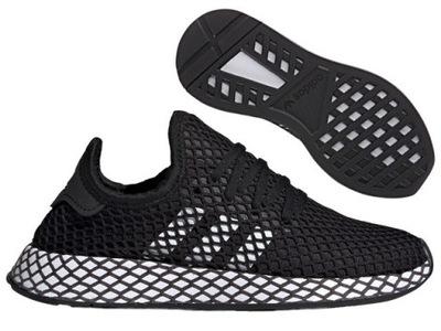 adidas buty siwe z siatką