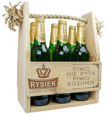 ПЕРЕНОСКА коробка пиво подарок В ДЕНЬ Деда