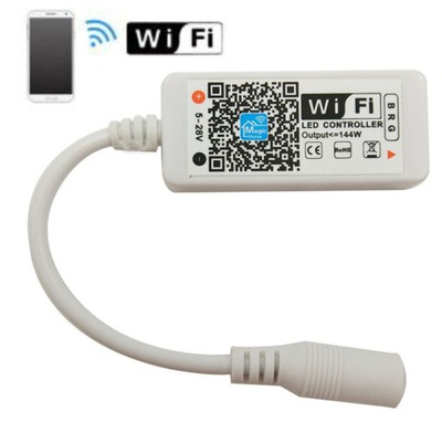 драйвер Контроллер лент LED RGB Wi-fi Android iOS