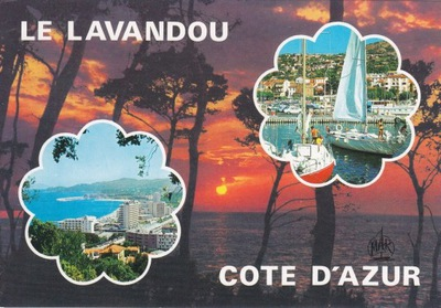 Франция - LE LAVENDOU - ЛАЗУРНЫЙ БЕРЕГ