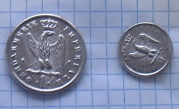пуговицы Придворное żandameria большие или маленькие