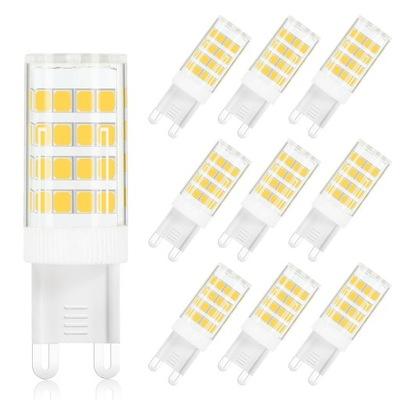 MENGS 10 штук лампа LED G9 5W=40W Белый теплый