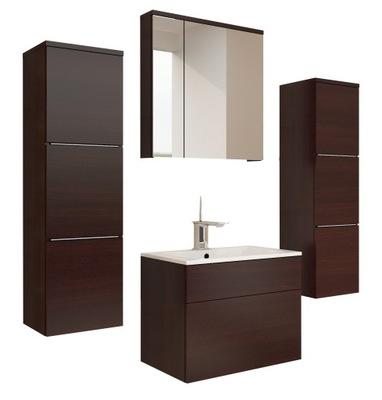 Nowoczesne Meble Do łazienki Z Białym Połyskiem 6728716727