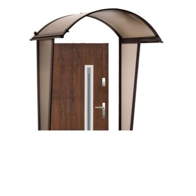Strieška nad vchodové dvere - Clonu nad dvere, Markízy Markízy plus stenu !!