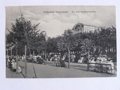 Ustka Stolpmuende Słupsk dom kuracyjny 1919