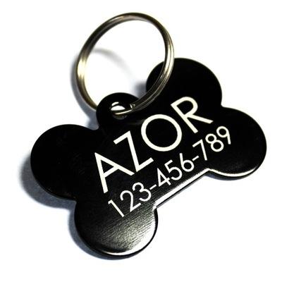 Идентификатор adresówka металлический для собаки,кошки-слоновая КОСТЬ
