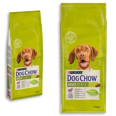 Purina Dog Chow Adult Lamb баранина корм 14 кг