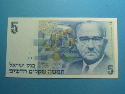 Израиль Банкнота 5 Shegalim 1985 !! UNC P-52a
