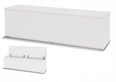 Pojemnik skrzynia 157 cm biała biały mat X33