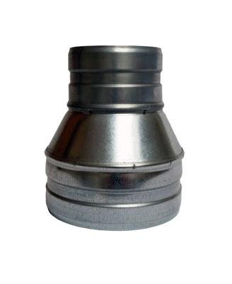 Zníženie 160/100 kapota hadice spiro ventilátor