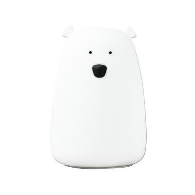 Svietidlá do detskej komora nočné Svetlo Led baby Bear batérie biely