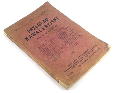 ОБЗОР KAWALERYJSKI № 3 /1925 ВЕРХОВАЯ Рис