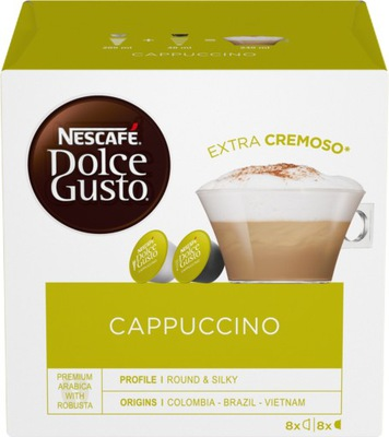 Nescafe Dolce Gusto Капучино 16 штук капсул