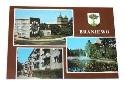 BRANIEWO Fragment miasta