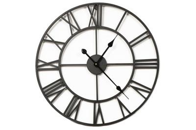 металлический часы instagram 50 СМ винтаж Черный