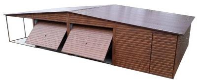 Гаражи Жестяные гараж консервную Банку 9x6+3 Навес Павильон