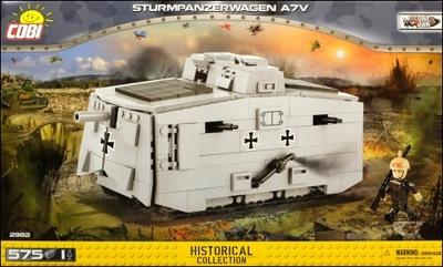 COBI Nádrž Sturmpanzerwagen A7V (2982) - 575 OS.