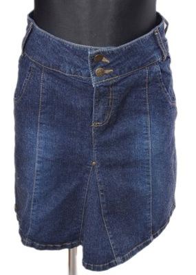 0a46d7a8 Spódnica niebieski 36/38 S/M 915157 bonprix - 6748570201 - oficjalne ...