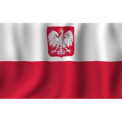 Флаг Флаг   с Godłem140x90 см.  .
