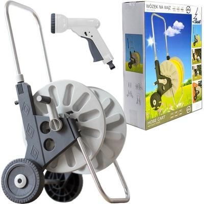 коляска ALU супер втягивающее БАРАБАН ДЛЯ ШЛАНГА садовый Г +P