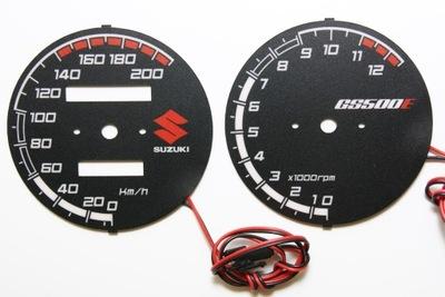 Suzuki GS 500 E Диски Счетчика MOMan INDIGLO