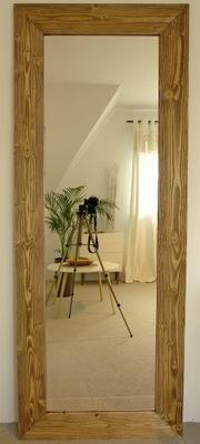 зеркало 180 x 70 светлая Рама 12см СТАРЫЙ Дерево чердак