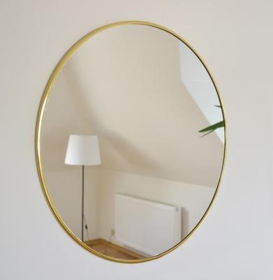 Okrúhle zrkadlo / kruh v zlatom ráme Optiwhite Fi 100